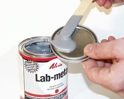 Lab Metal Repair Putty 12 OZ. Can